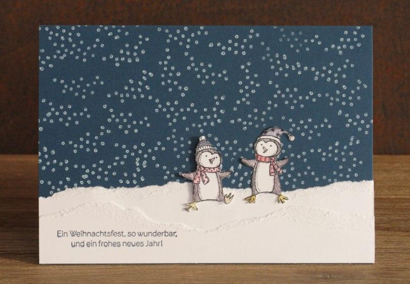 Winterlandschaft Zeit Zum Bastelnzeit Zum Basteln