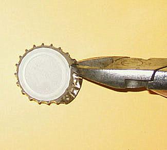 DIY - Dekorative Bottlecaps aus Kronkorken selbst gemacht - www.zeit-zum-basteln.de