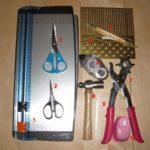 Grundwerkzeug für Kartenbasteln