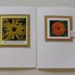 Fotoblumen-Karten