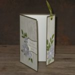 Lesezeichenkarte Woodgrain