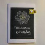 Anleitung Chalkboard Technik