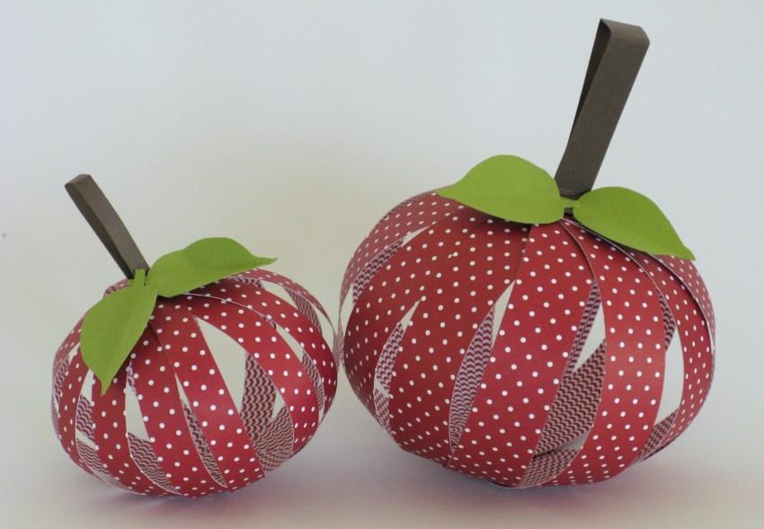 Fruchtige deko zeit zum bastelnzeit zum basteln for Apfel basteln herbst