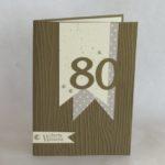 Schnelle Karte zum 80sten