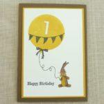 Zum ersten Geburtstag