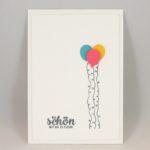 Luftballons zur Feier des Tages