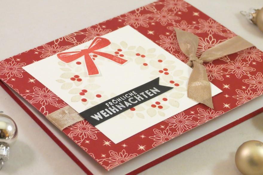 Weihnachtskranz rot (2)