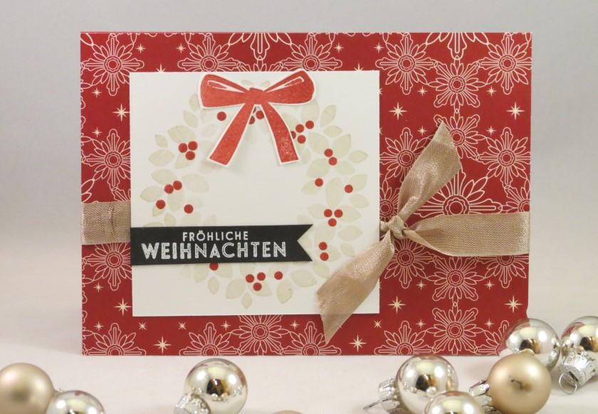 Weihnachtskranz rot (3)