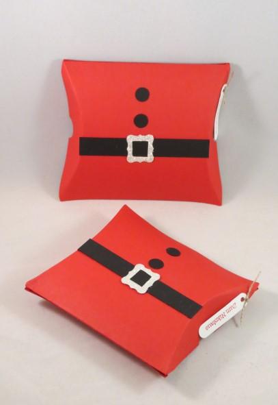 xmas pillowbox 1 zeit zum bastelnzeit zum basteln. Black Bedroom Furniture Sets. Home Design Ideas