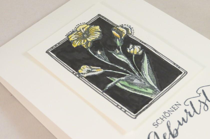 black doodle flower (2)