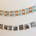 Foto-Girlande zum Geburtstag