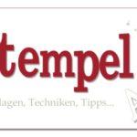 Stempel-ABC – Sukkulenten aus Papier