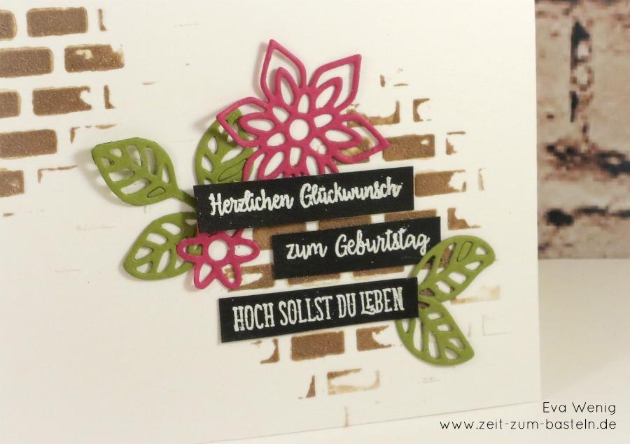 www.zeit-zum-basteln.de - Geburtstagskarte mit Masken und Strukturpaste - Stampin up
