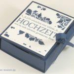 Two-in-one – Karte & Box zur Hochzeit