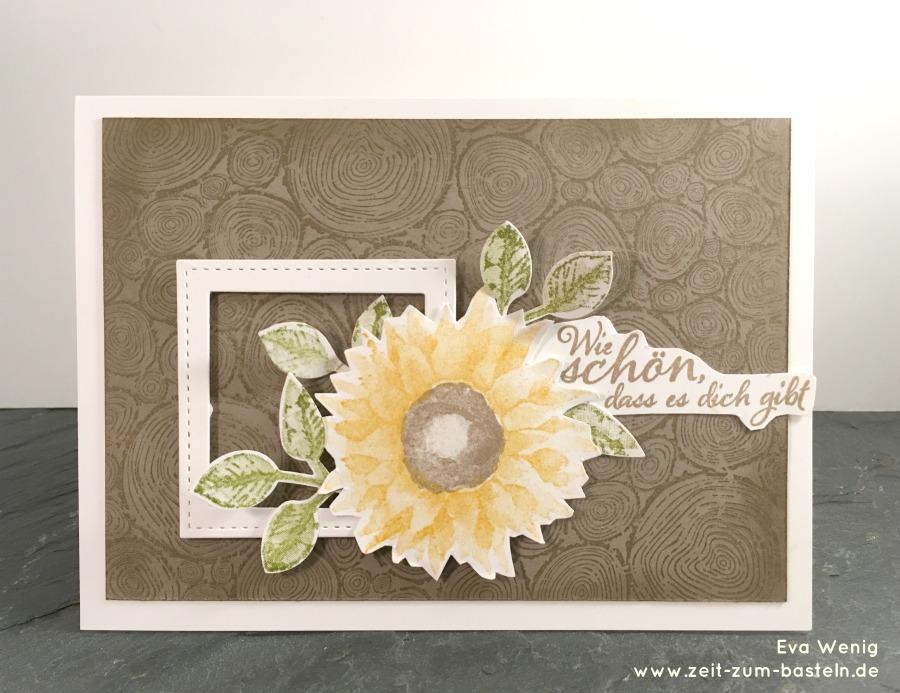 www.zeit-zum-basteln.de - Karte zum Hochzeitstag (Stampin Up Herbstanfang und Treerings)