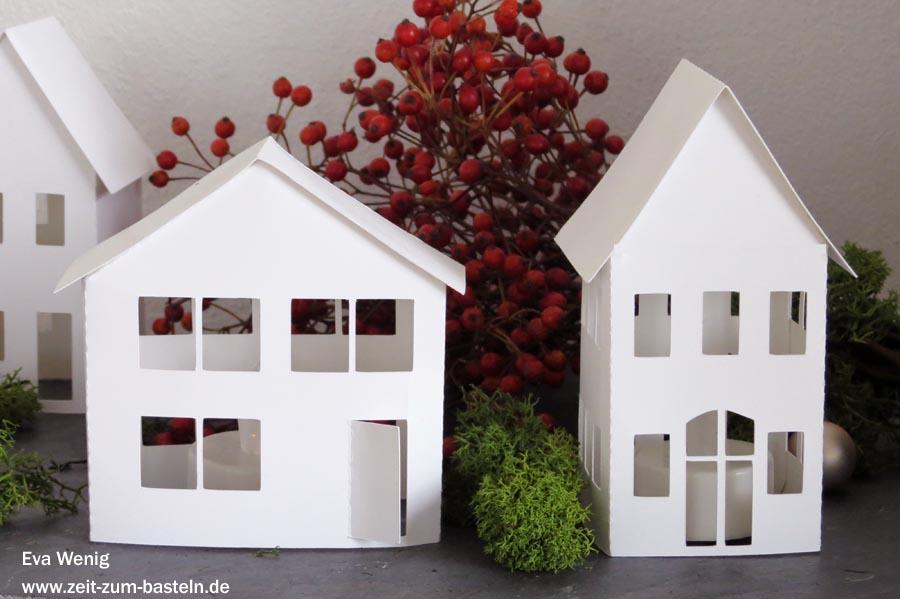 Freebie - süße Leuchthäuser mit Vorlage als PDF oder free SVG - www.zeit-zum-basteln.de
