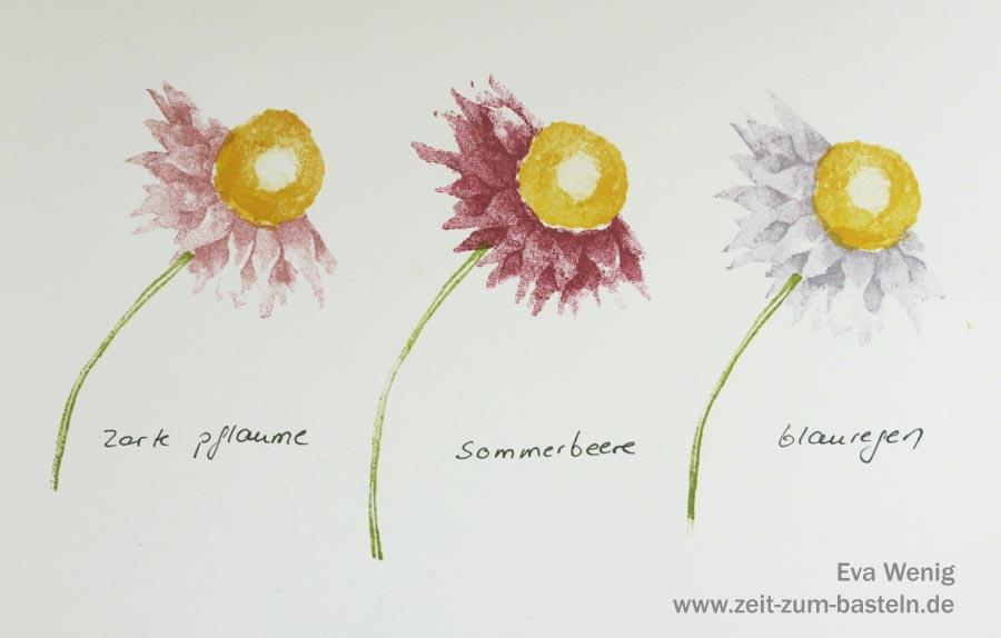 Der ultimative Sonnenblumen-Guide - www.zeit-zum-basteln.de (Herbstanfang, Stampin Up)