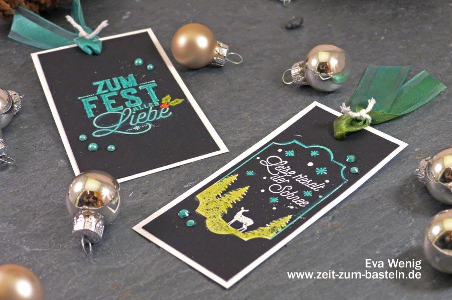 Meine 5 liebsten Techniken mit Stampin Blends - Färben von Embossing - Stampin Up - www.zeit-zum-basteln.de