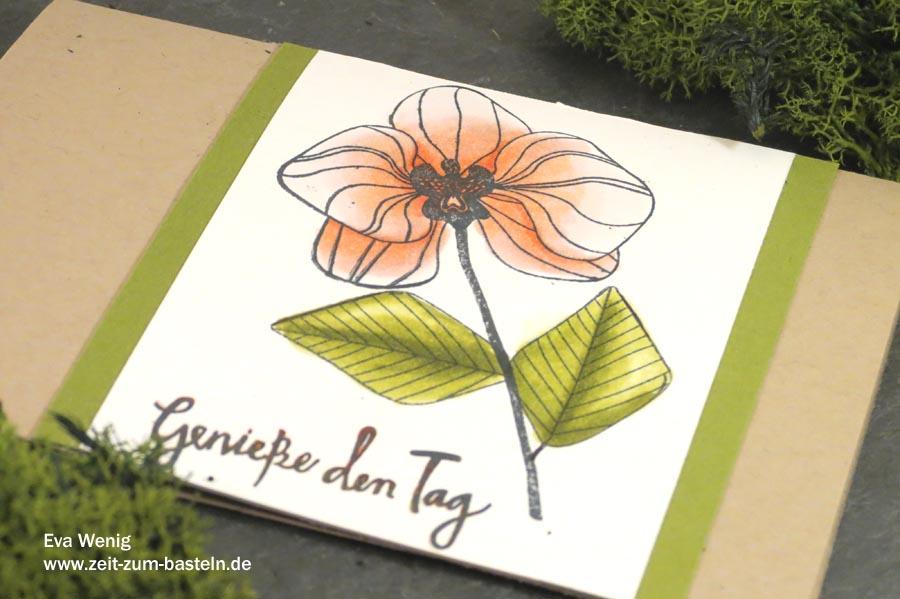 Meine 5 liebsten Techniken mit Stampin Blends - Stampin Up - www.zeit-zum-basteln.de