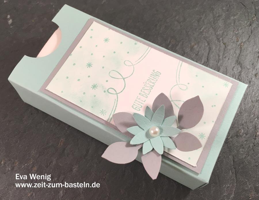 Winterlicher Tempo Box mit Anleitung - perfekt für die Winterzeit - (Stampin Up, Tannenzauber) - www.zeit-zum-basteln.de