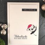 Weihnachtspandas sind los