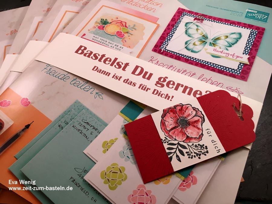 Schnelle Anhänger mit dem Stempelset 'Einfach wunderbar' von Stampin Up - www.zeit-zum-basteln.de