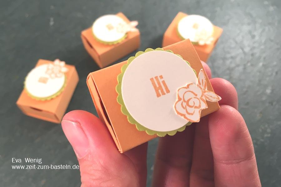 Mini-Schachtel als Eyecatcher - Mini Tic Tac frühlingshaft verpackt - Stampin Up - www.zeit-zum-basteln.de