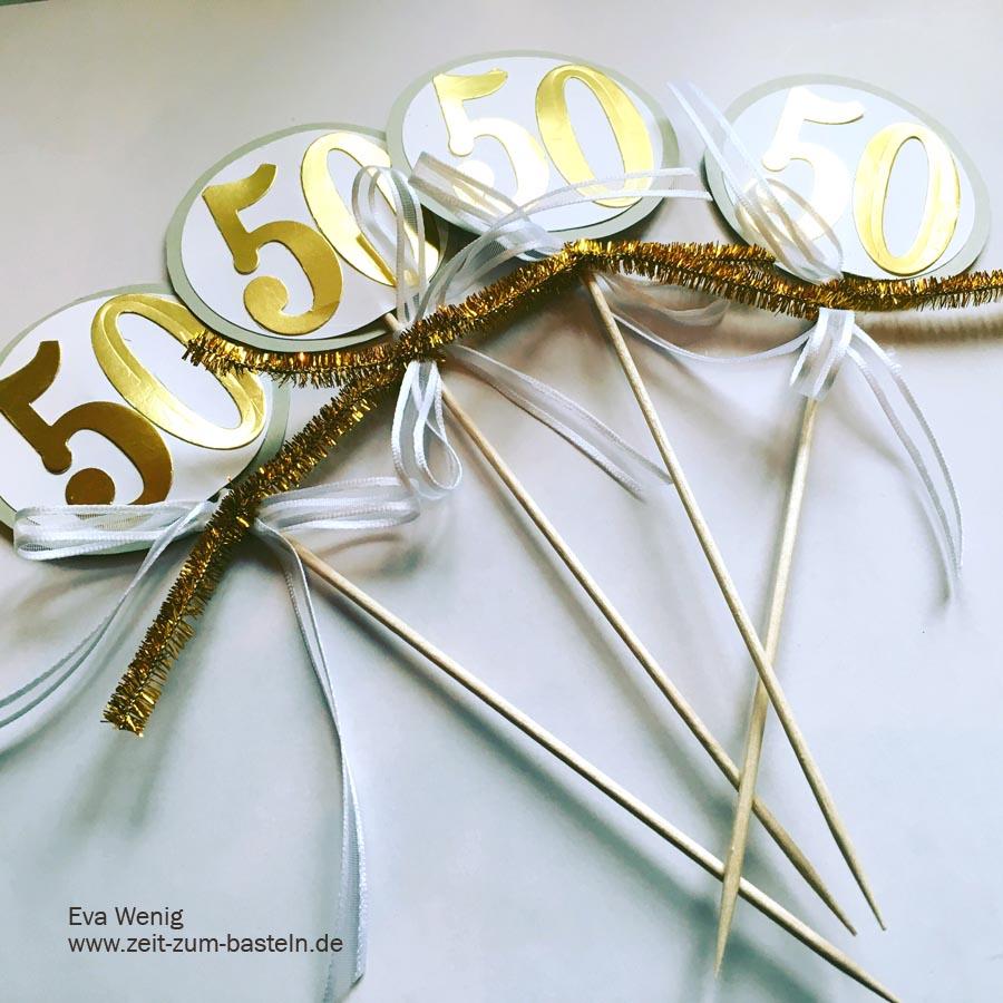 Goldene Hochzeit 50 Wunderbare Jahre Zeit Zum Bastelnzeit Zum
