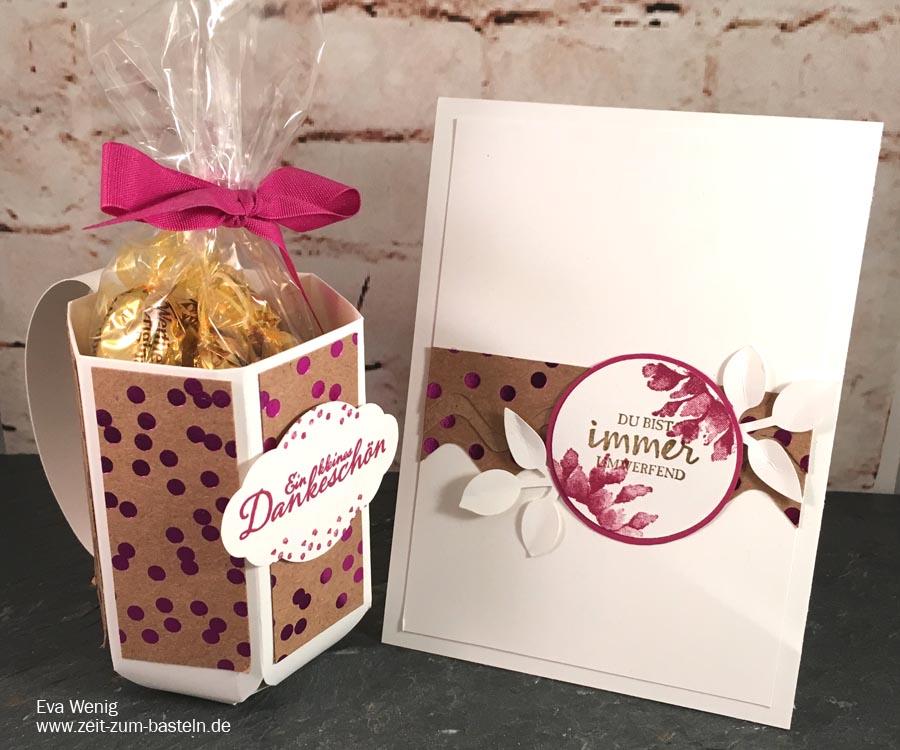 Karte und Dankeschön-Geschenk mit dem Envelope-Punch-Board - Stampin Up - www.zeit-zum-basteln.de