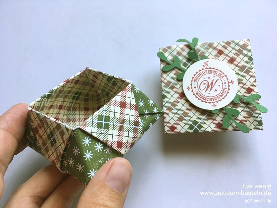Origami Sternschachtel 4 Zeit Zum Basteln