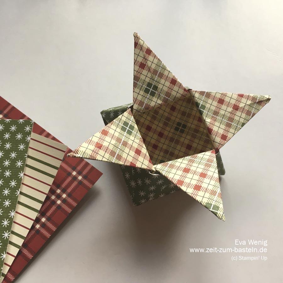 Origami Sternschachtel 7 Zeit Zum Basteln