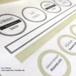 Freebie – Etiketten für Hausgemachtes