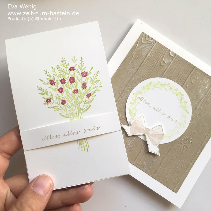 Mein herbstliches Kartenset mit 'Alles, alles Gute' von Stampin Up - www.zeit-zum-basteln.de