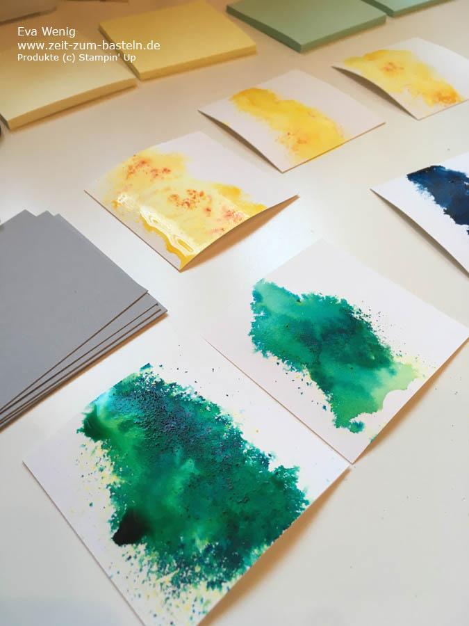 Post-it Blöcke für Ideen mit Brushos und Making Every Day Bright (Stampin Up) - www.zeit-zum-basteln.de