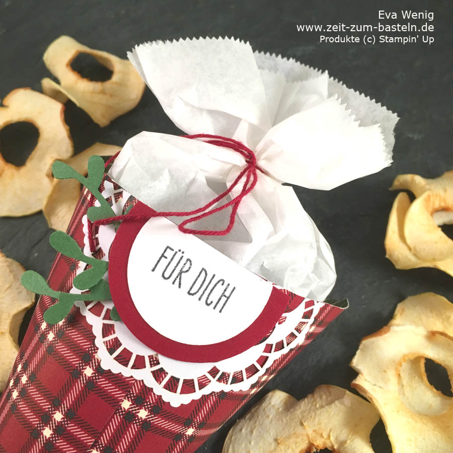 Video-Tutorial: Schnelle Spitztüten zweierlei Art für Deine Geschenke aus der Küche (Stampin Up) - www.zeit-zum-basteln.de
