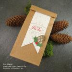 Weihnachtlich eingetütet