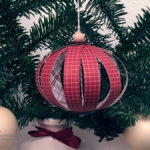 Anleitung für Christbaumkugeln aus Papierstreifen