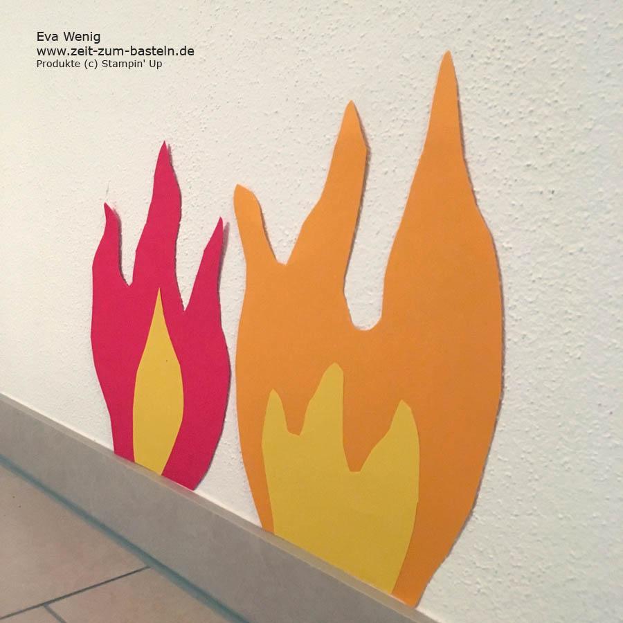 Mein kleiner Feuerwehrmann wird 3 und dazu gibt es eine passende Geburtstagsdeko - www.zeit-zum-basteln.de