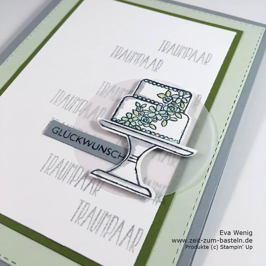 Hochzeitskarten a la Brian King mit dem Set Kuchen ist die Antwort (Stampin Up) - www.zeit-zum-basteln.de