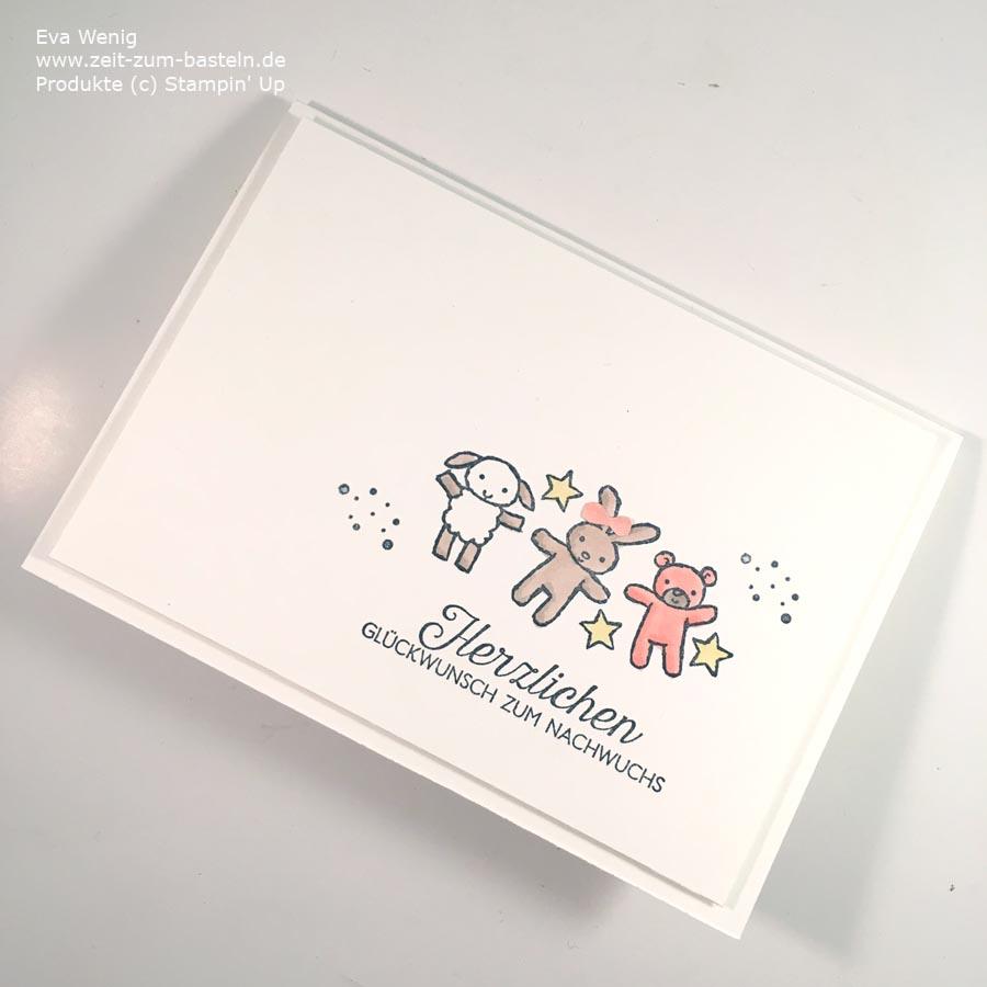 Süße Babykarten mit Stampin Up