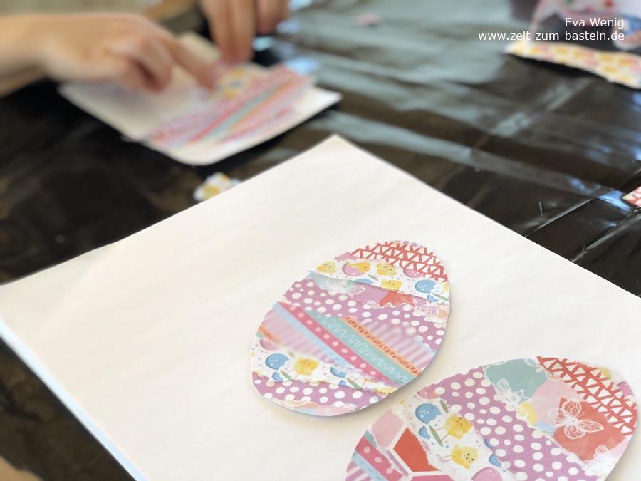 DIY Osterkarte für Mutter und Kind