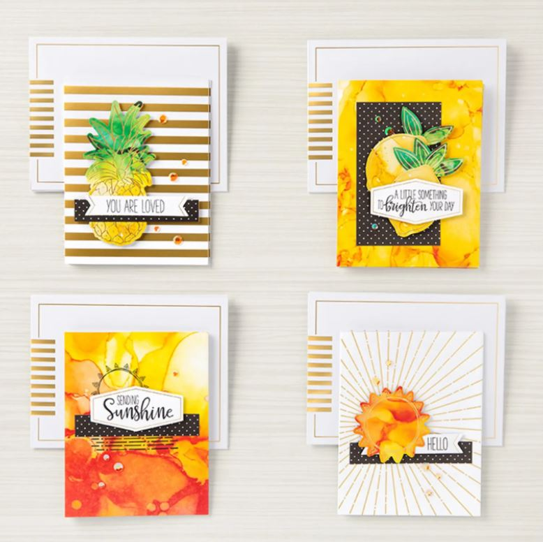 share sunshine stampin up