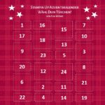 Stampin Up Adventskalender – Wähl Dein Türchen
