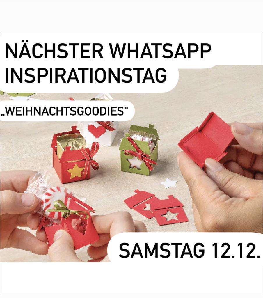 Whatsapp Inspirationstag Zeit zum Basteln