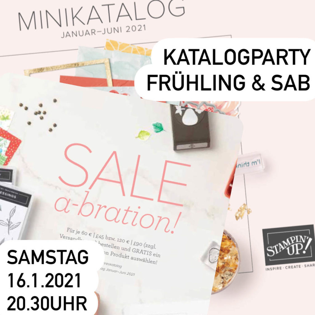 Katalogparty Frühling SAB Stampin Up
