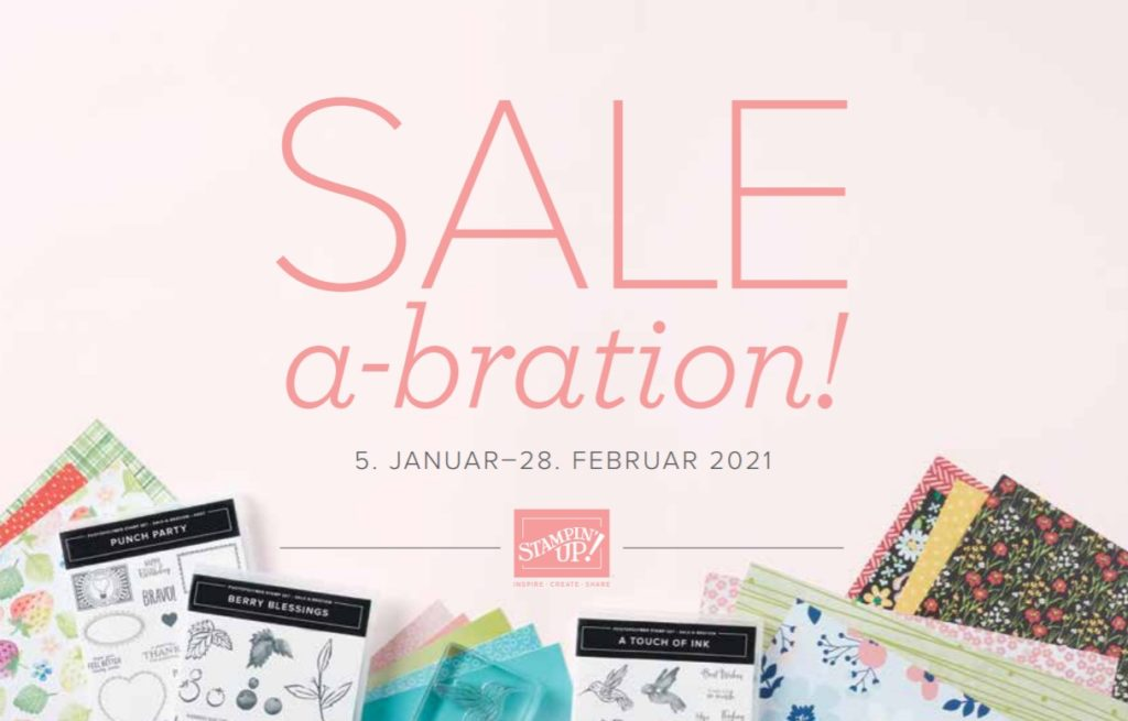 Sale a Bration 2021 Stampin Up