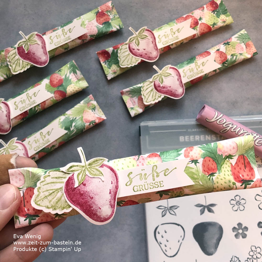 Süße Goodies mit Sommerbeeren und Beerenstark von Stampin Up