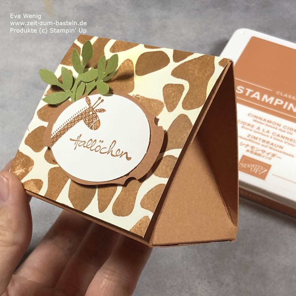 Animal prints mit Butterfly Brilliance Stampin Up
