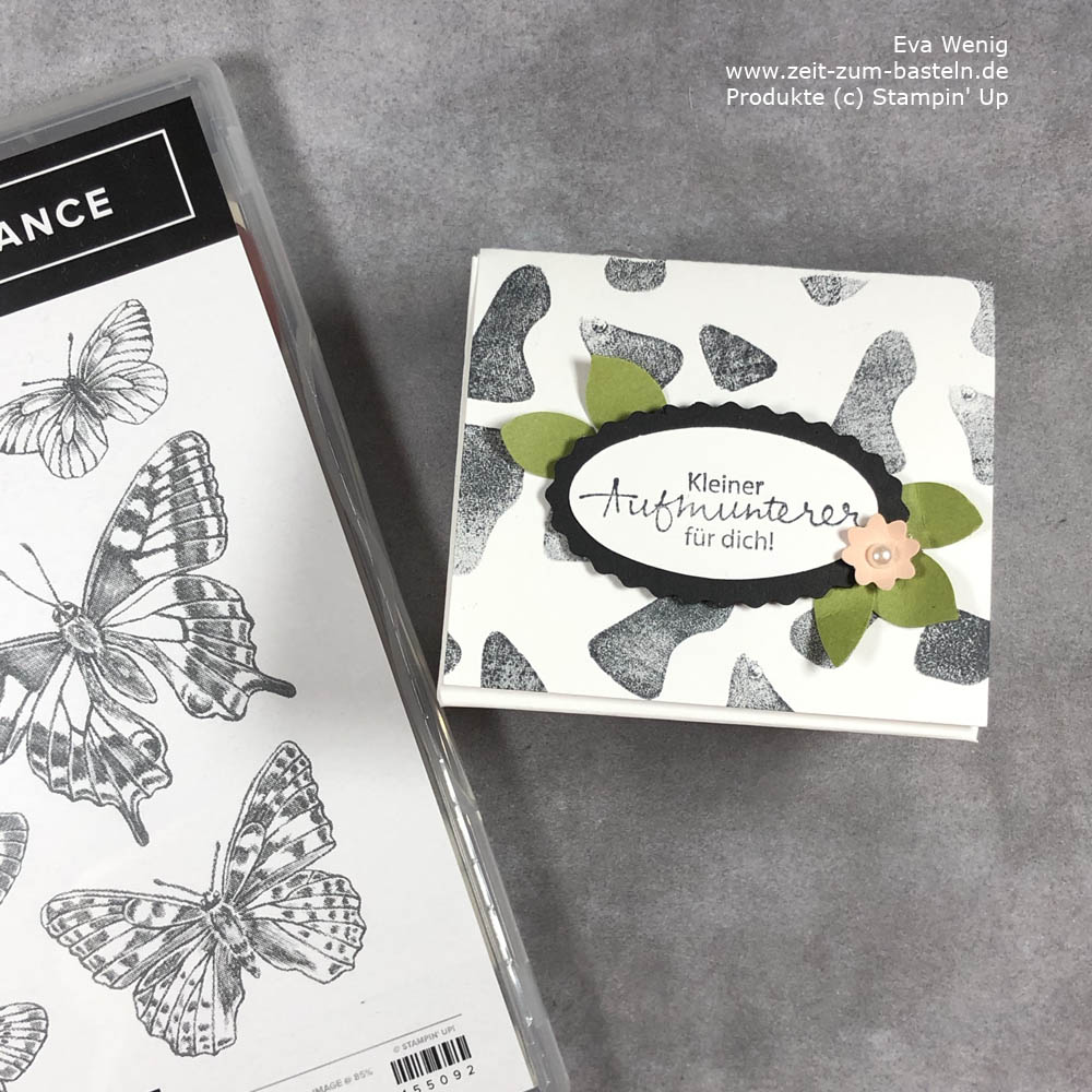 Animal prints mit Butterfly Brilliance Stampin Up Kuh