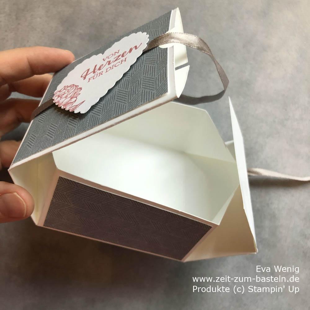 Online  Workshop 'Gut gefaltet' - Box ohne Falten Stampin Up